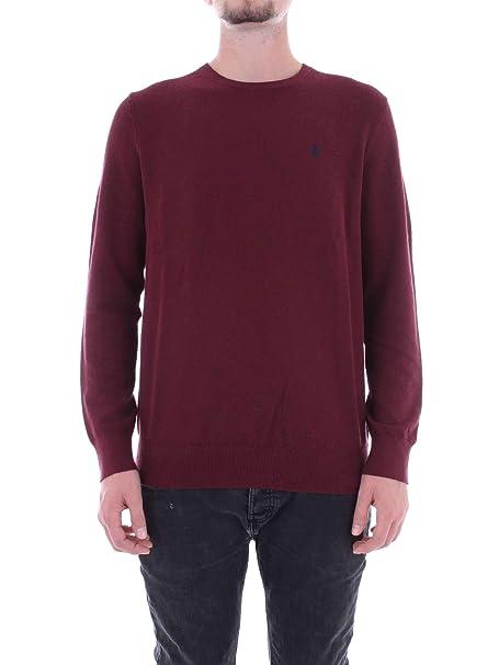 Ralph Lauren 710721466 suéter Hombre Bordeau M: Amazon.es: Ropa y accesorios
