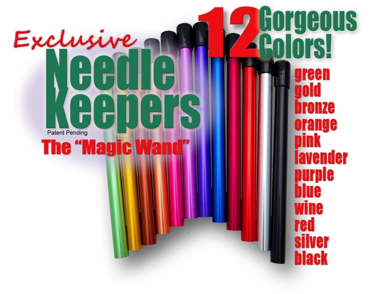 Needle Keepers, the Magic Wand (Wine-DB) Fiber to Fabric Magic NK