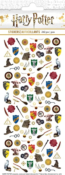 Paper House Productions SET0007 Harry Potter Planner Sticker Bundle includes Weekly Kit Micro Stickers Enamel Stickers