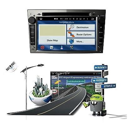 ... Capacitiva 2 DIN Coche Radio Android 8.0 OS para Opel Zafira 2005 2006 2007 2008 2009 2010 2011,1024x600 8 Core 1.5G CPU 4G DDR3 RAM 32G Flash GPS Navi ...