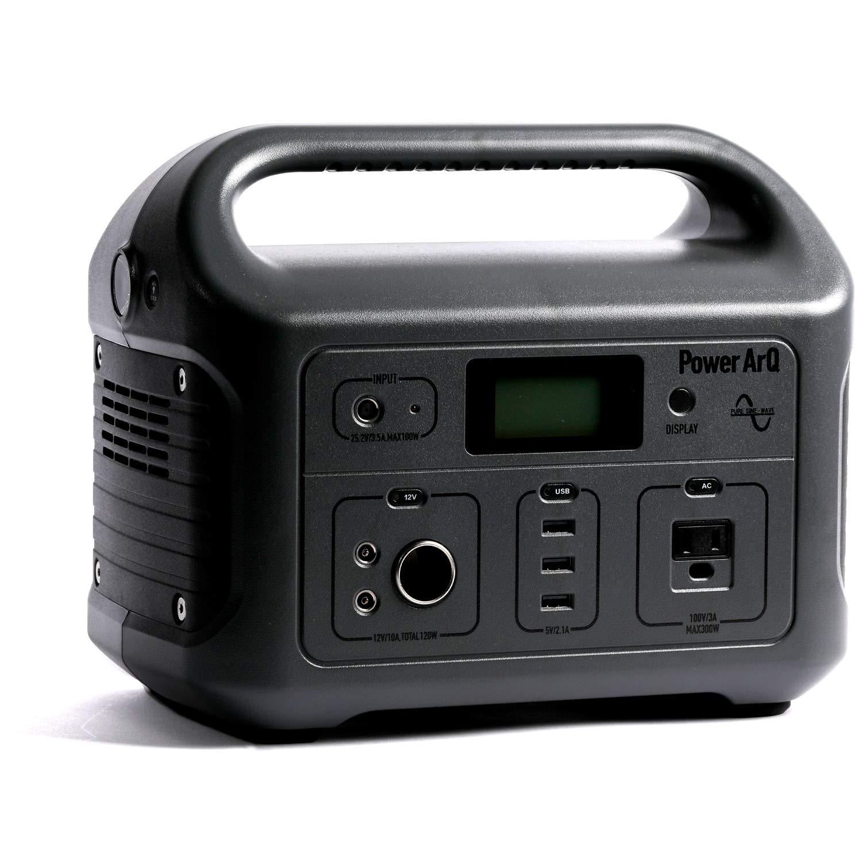 SmartTap ポータブル電源 PowerArQ チャコール (626Wh/174,000mAh/3.6V/正弦波 100V 日本仕様) 正規保証2年 008601C-JPN-FS-CH B07R659S6R チャコール