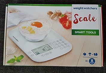Weight Watchers Scale Smart Tools Kuchenwaage Amazon De Kuche