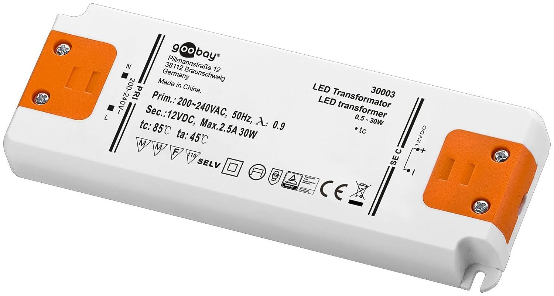 Goobay LED Transformer Watt Total Load, White, 24 Volt Oliver Vorwerk 30612
