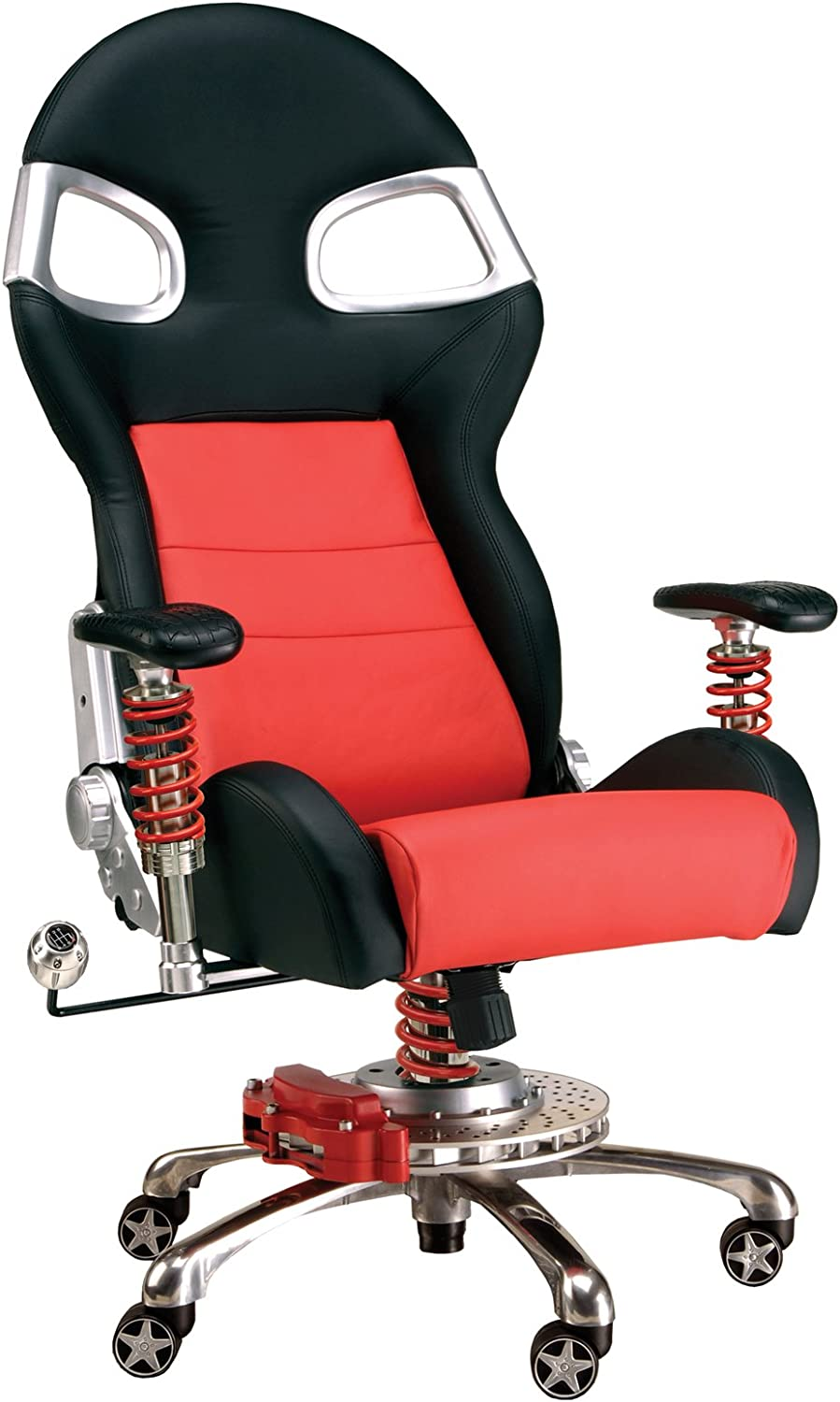 PitStop Furniture F08000R LXE Office Chair, Red