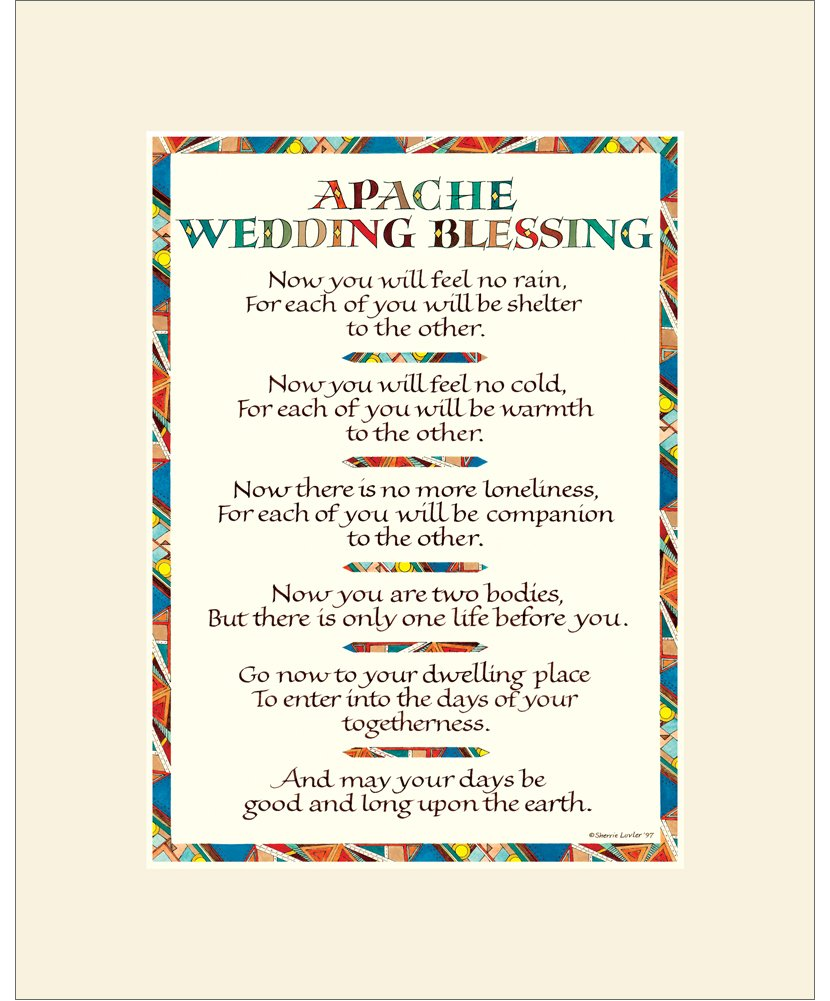 87 Apache Wedding Blessing