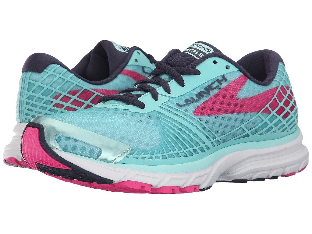 Brooks Women's Lauch 3 Running Shoes (Blue Tint/Navy Peacoat, 6(B))
