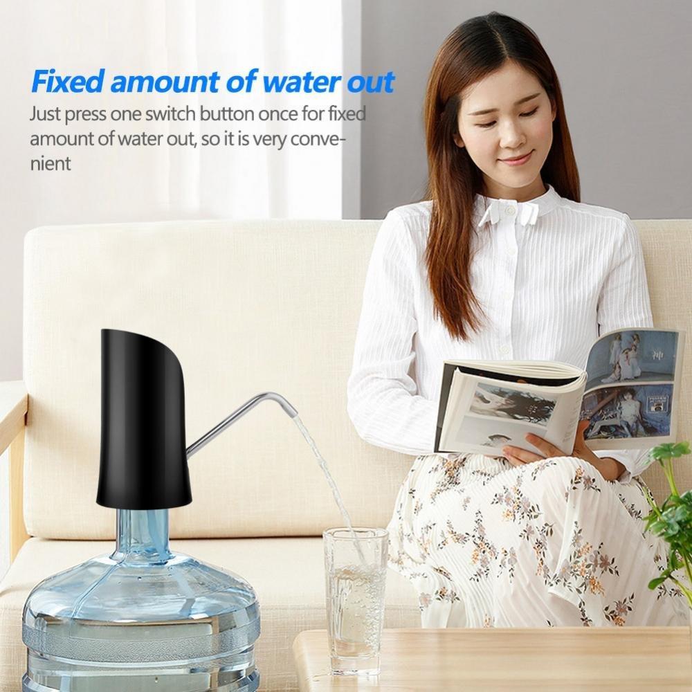 Yosooo Drinking Water Pump Electric Drinking Water Pump Dispenser for Home Kitchen Office (Black) by Yosooo (Image #6)