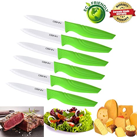 Amazon Com Real Sharp Dsnn Ceramic Steak Knife With Fair Price