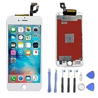 """ASA-Y iPhone 6 Plus écran LCD Display Écran Tactile LCD Digitizer Remplacement Complet avec des Kits d'outils de réparation Gratuit pour iPhone 6 Plus (5.5"""" Blanc)"""
