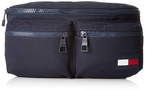 mejor online ahorrar 100% de alta calidad Tommy Hilfiger - Crossbody Sports Tape, Bolso de mano Hombre, Azul (Tommy  Navy), 10x14x31 cm (B x HT)
