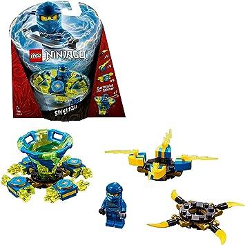 Oferta amazon: LEGO Ninjago - Spinjitzu Jay, peonza azul y amarilla divertida de ninja de juguete (70660) , color/modelo surtido