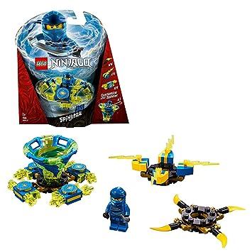 LEGO Ninjago - Spinjitzu Jay, peonza azul y amarilla ...