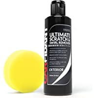 Carfidant Black Car Scratch Remover - Ultimate Scratch and Swirl Remover for Black and Dark Paints- Solvent & Paint…