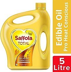 Saffola Total, Pro Heart Conscious Edible Oil, Jar, 5 L