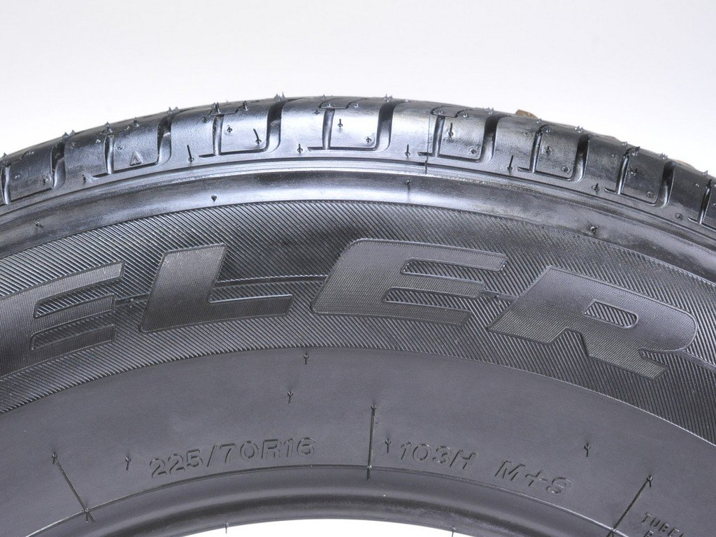 Bridgestone Dueler H/L 422 Ecopia All-Season Radial Tire - 225/70R16 103H