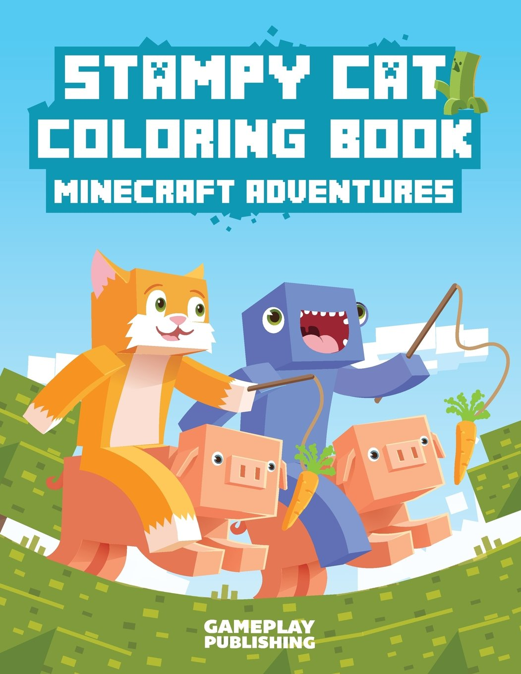 Stampy Cat Coloring Book Minecraft Adventures Gameplay
