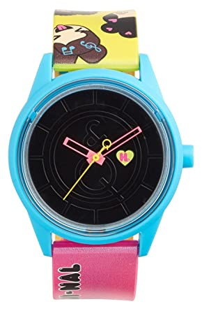 "Harajuku Lovers HL2319 ""So Emoji-Nal"" Solar Watch 40mm"