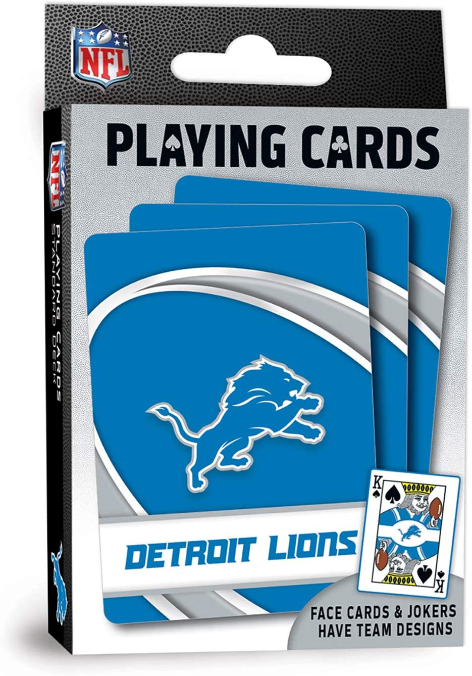 MasterPieces NFL Detroit Lions Playing Cards