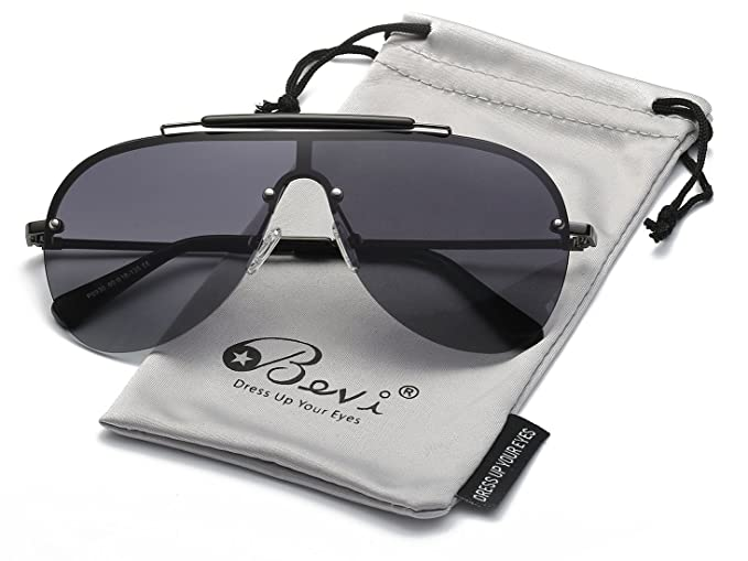 Amazon.com: Bevi Aviator anteojos de sol polarizadas para ...
