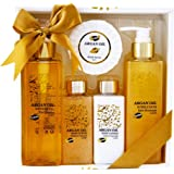 Bath Gift Set - Argan Oil, Coffret Cadeau-Coffret de bain