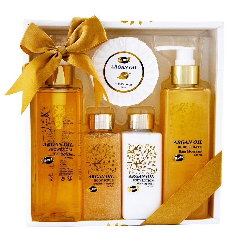 Gloss! Argan Oil - Set de baño regalo Universal Beauty Market AO-05