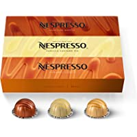 Nespresso Capsules VertuoLine, Barista Flavored Pack, Mild Roast Coffee, 30 Count Coffee Pods, Brews 7.8oz
