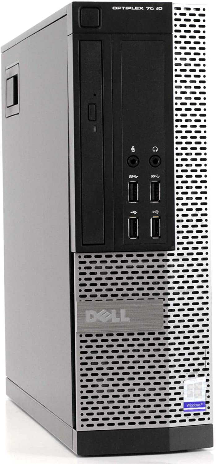 Dell OptiPlex 7020-SFF, Intel Core i5-4570 3.2Ghz, 8GB RAM, 500GB Hard Drive, DVDRW, Windows 10 Pro 64bit (Renewed)