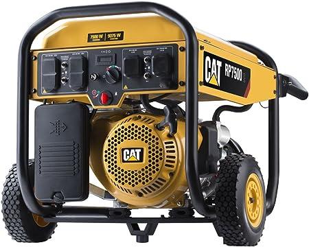 Amazon.com: Generador portátil a gas Cat con arranque ...