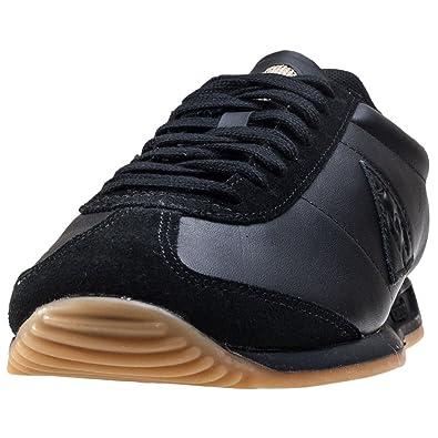 ba1cb65978fd Le Coq Sportif Quartz Hommes Baskets Black Gum - 46 EU: Amazon.fr ...