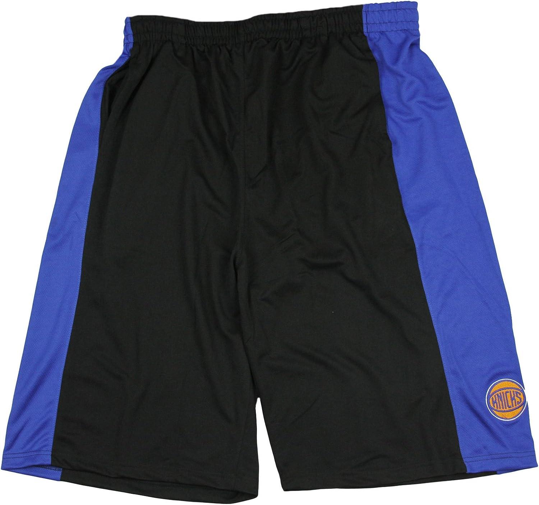 New York Knicks NBA Mens Big Malone Shorts, Black