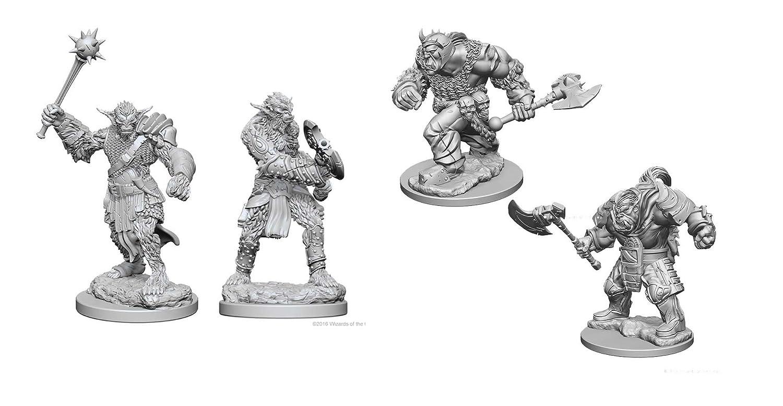 Dungeons /& Dragons Nolzurs Marvelous Unpainted Miniatures Bundle Bugbears /& Orcs