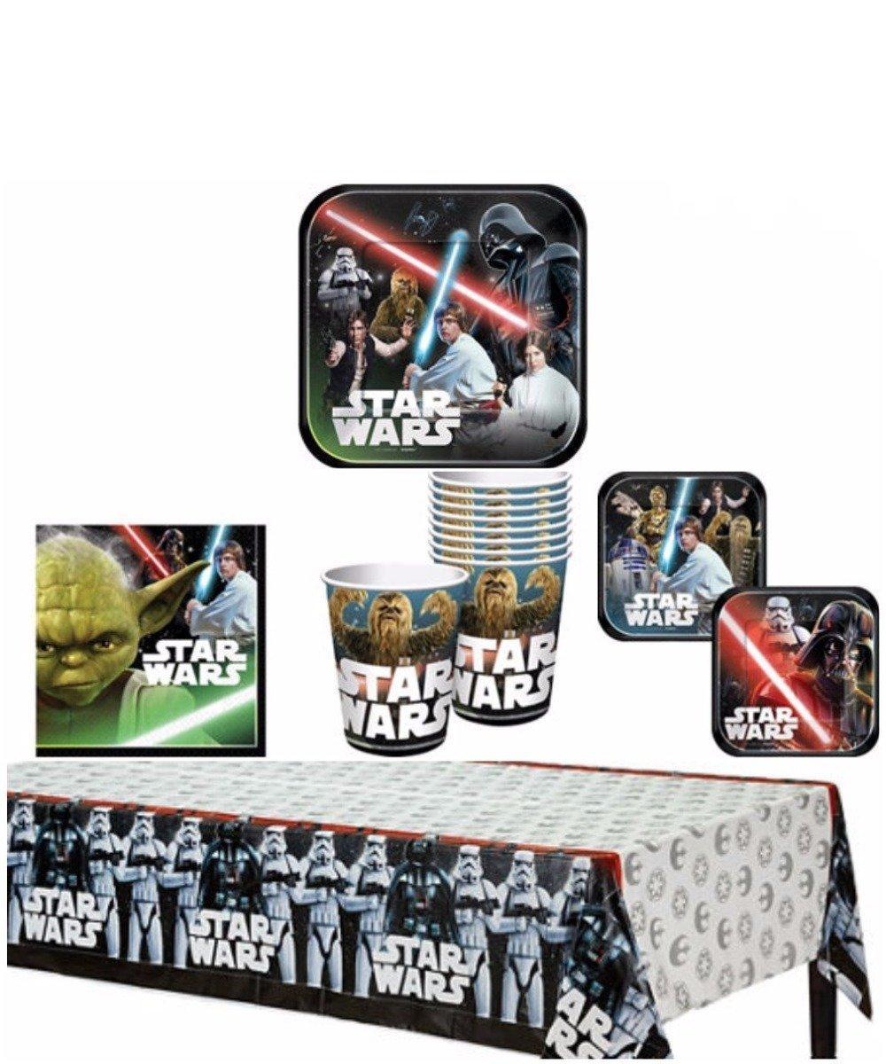 TLP Party Star Wars Fiesta de Cumpleaños Suministros Pack ...