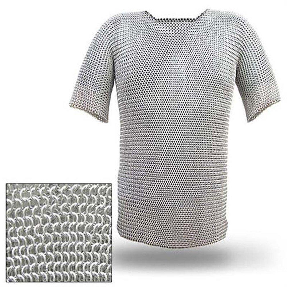 Replica Haubergeon Chain Mail Armor Long Shirt NAUTICALMART INC