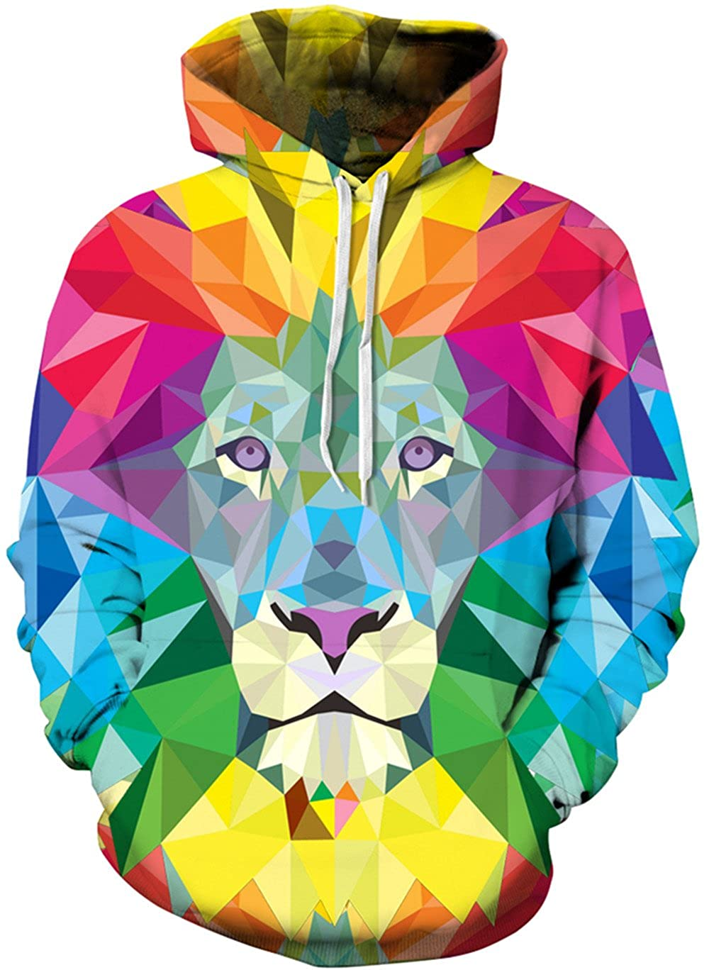 Imbry Women's 3D Printed Hoodies Pullover Hooded Sweatshirts CMSTCQYDM