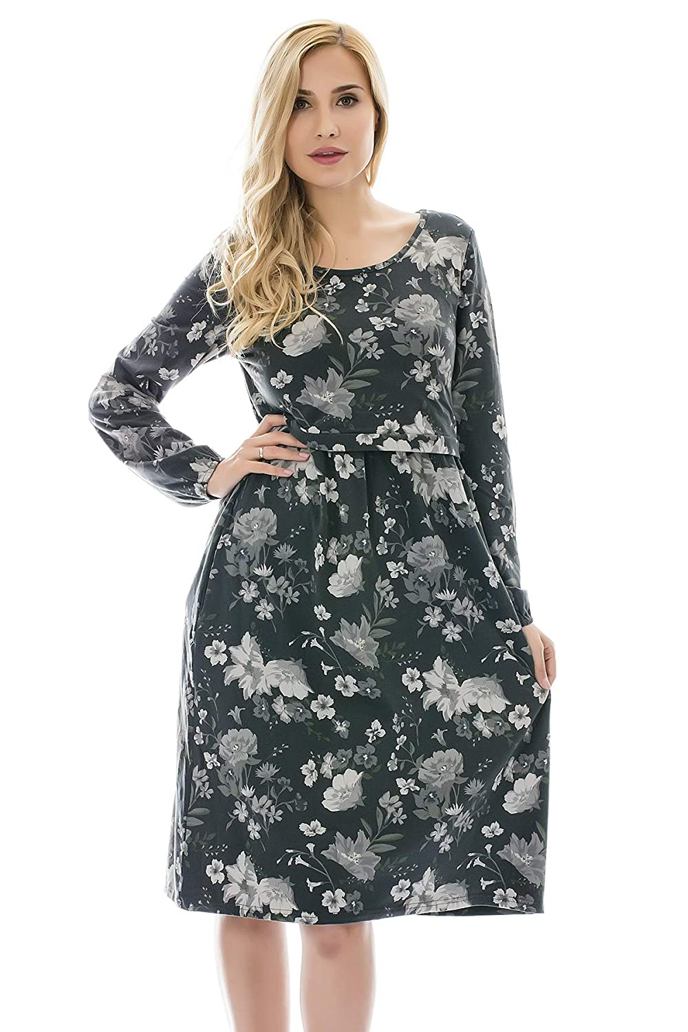 Bearsland DRESS B07JLJS6W7 Large|Greenflower Greenflower Large