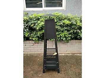 Ltd Vh106961 - Estufa leña chimenea 30x30x100cm ac ne natuur: Amazon.es: Bricolaje y herramientas