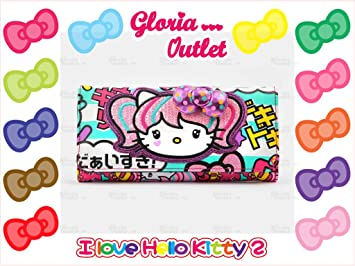 Amazon.com   Hello Kitty Japanimation Wallet Loungefly Sanrio   Cosmetic Tote  Bags   Beauty 0d8779fc59dd2