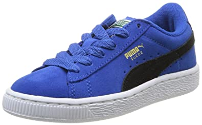 huge discount b76a9 94d57 Puma Suede Jr, Baskets Mode Mixte Enfant