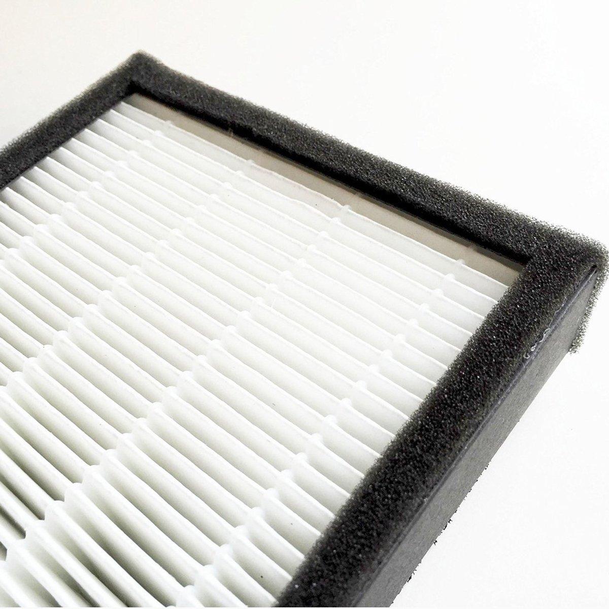 True HEPA + Pre Filter for GermGuardian Air Purifiers FLT5250 FLT5250PT Filter C for AC5000 Series Replacement HEPA + Pre Filter Fit Germ Guardian 5000 5111 5250 2pcs