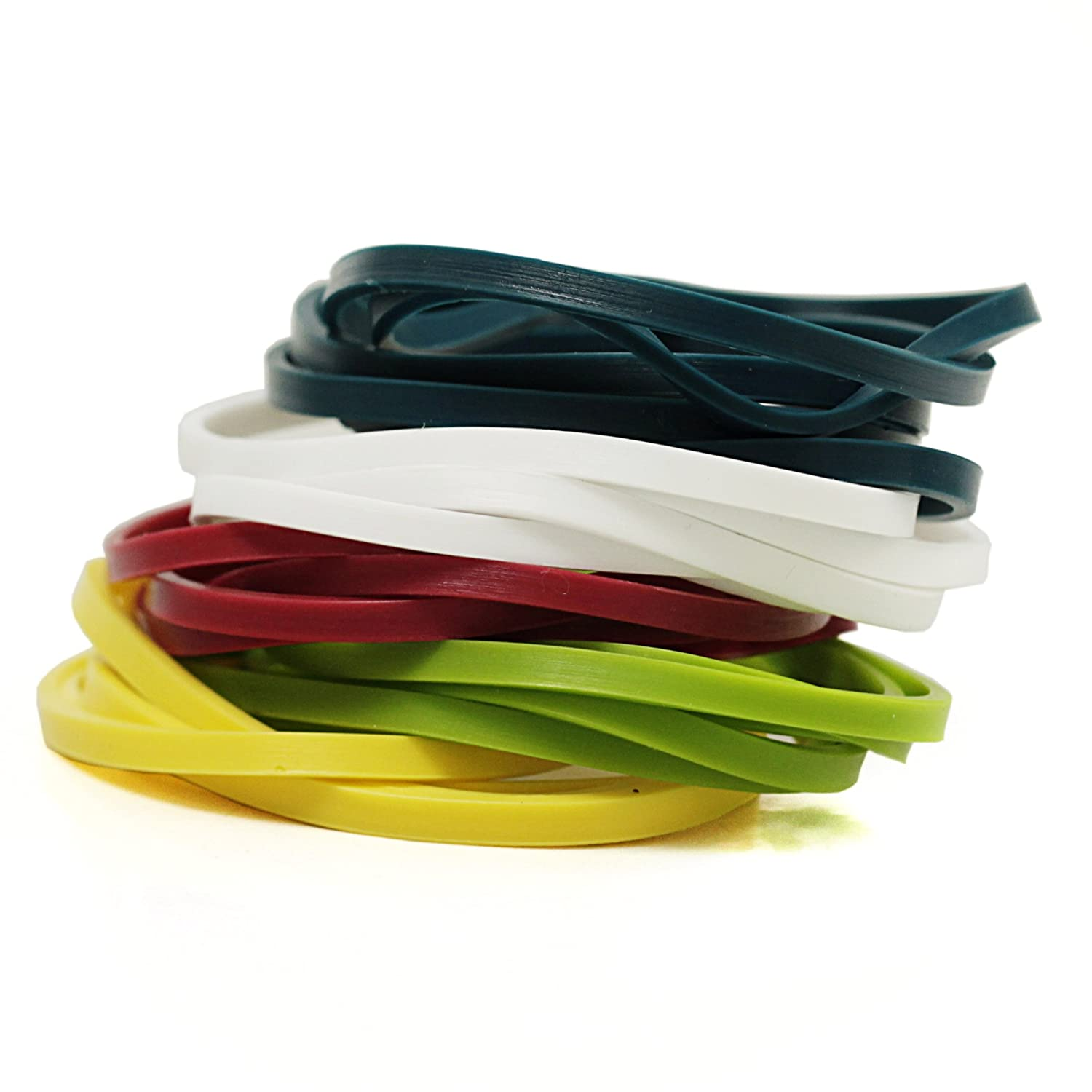 Silicone Cooking Bands - Multi Color - 1 Unit HIC Harold Import Co. FBA_592108-785