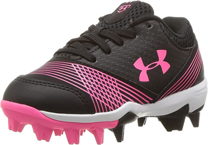 NEW Under Armour Womens Glyde RM Softball Cleats Pink//Black Women/'s Size 8