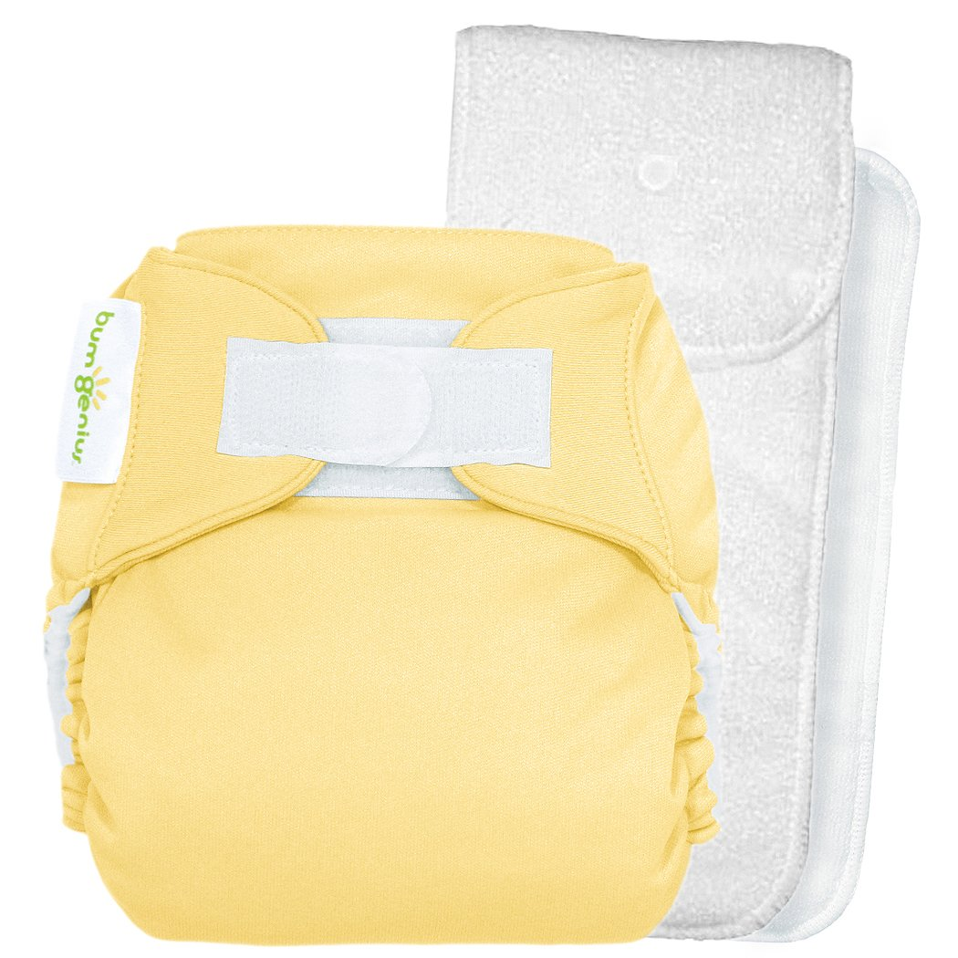 Amazon Bumgenius One Size Pocket Diaper 40 Hook Loop