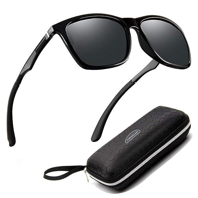 45f50e0aac Perfectmiaoxuan Gafas de sol para hombre mujer polarizadas/Ciclismo El golf  Conducción Pescar Alpinismo Gafas
