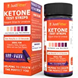 Urinalysis Ketone Test Strips. Testing Levels of Ketones Suitable for Diabetics, Low Carb, & Fat Burning Dieters. Get on Track with Ketogenic, Paleo, Diabetic, or Atkins Diet for Weight Loss & Ketosis. 100 strips + 25 free.