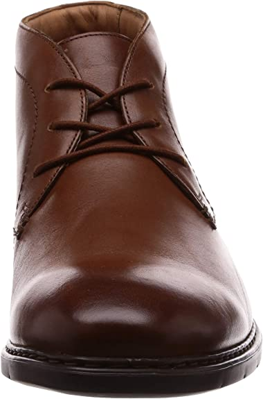 Mens Clarks Smart Lace Up Boots Banbury Mid