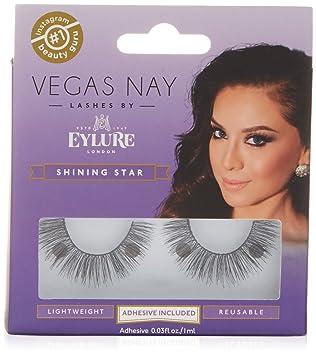 e64b3b38f94 Eylure Vegas Nay Lashes, Shining Star: Amazon.co.uk: Beauty