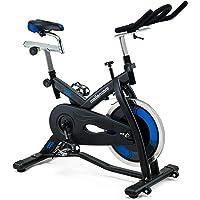 Mellerware - Bicicleta Estatica spinning - Resistencia ajustable con Pantalla LCD y pulsómetro.Sillín y manillar…