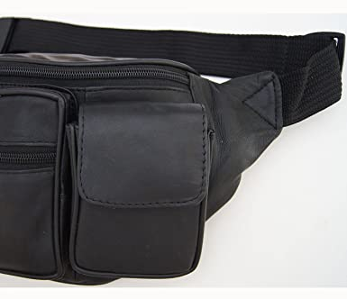 539e5cb9a20d AG Wallets 2 Cell Pouch Large Fanny Pack Waist Bag Organizer With 18