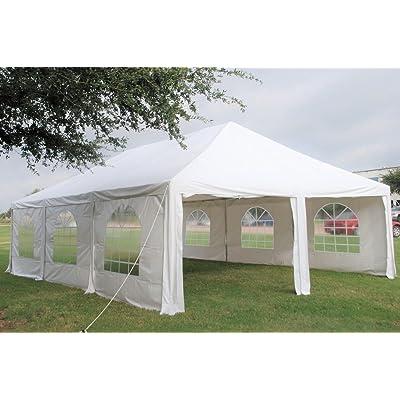 Heavy Duty Waterproof PE Party Tent Canopy Shelter - 30'x20' PE Frame Tent : Garden & Outdoor