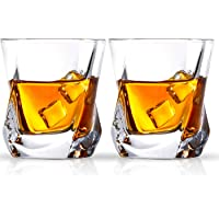Cooko Vasos de whisky,Lujo Cristal Set de Cristal,Vidrio
